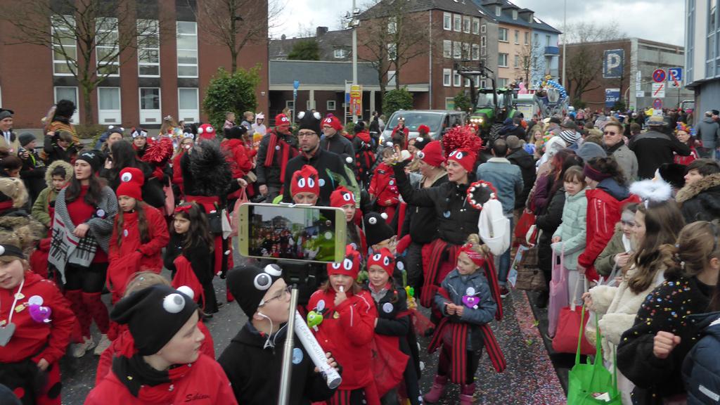 Karnevalszug Rosenmontag